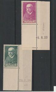 FRANCOBOLLI-1938-39-FRANCIA-2-VALORI-PRO-MARTIRE-MNH-E-1585