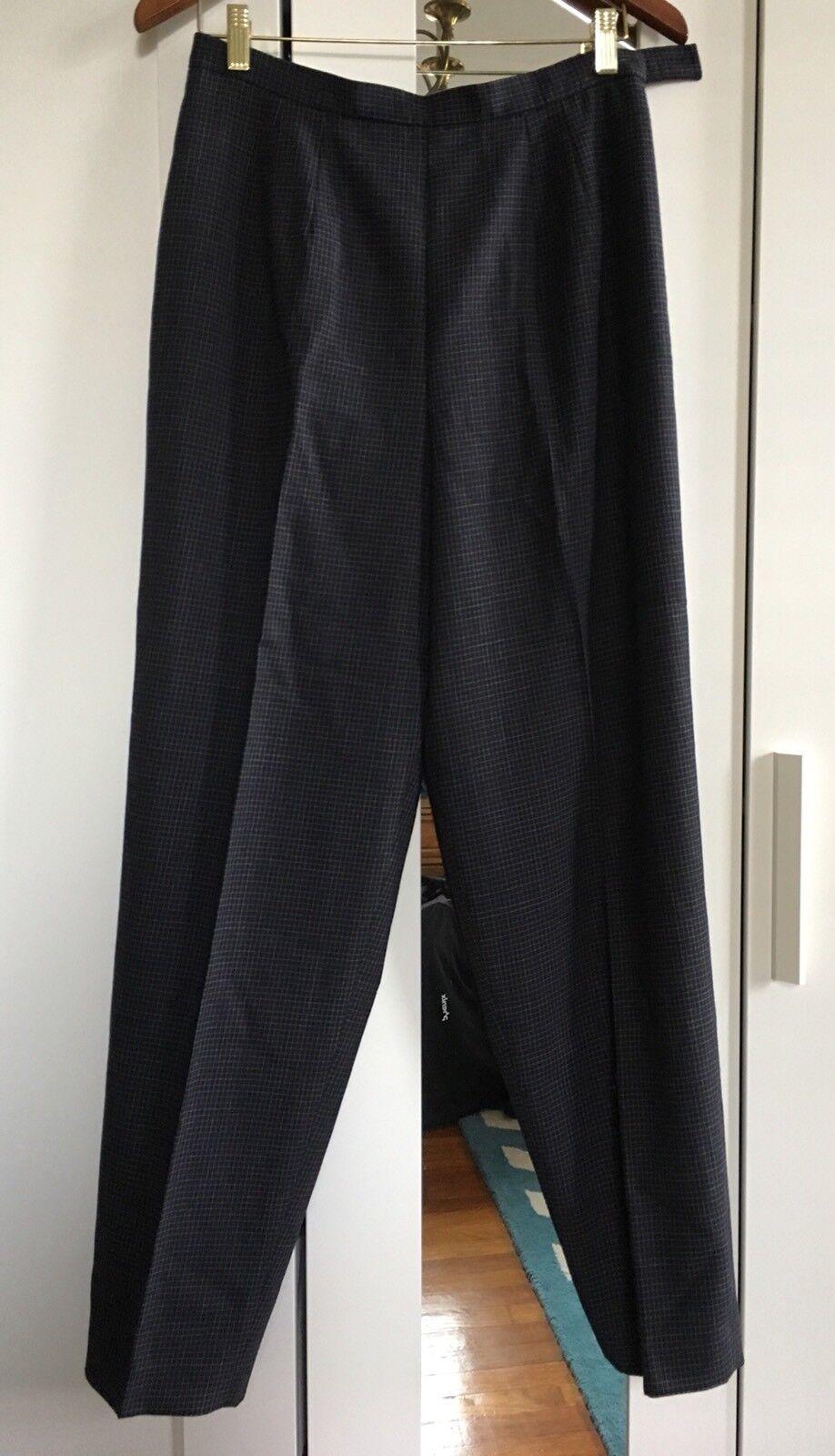 New Talbots Women Pants Size 12, 100% Wool