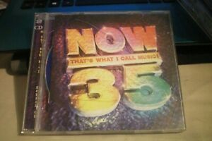 NOW THAT'S WHAT I CALL MUSIC! 35 DOUBLE CD VGC