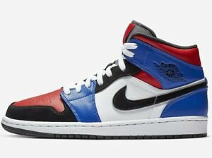 air jordan 1 bleu rouge blanc