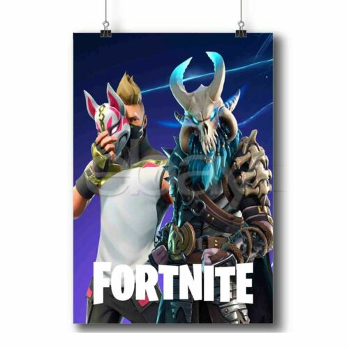 4Fort4nite Season 5 Battle Pas New Custom Poster Print Art Wall Decor