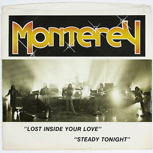 MONTEREY Lost Inside You Love/Steady Tonight 1980'S ROCK 7IN  W/P/SLVE VG++ VG++