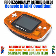 *NEW GLASS SCREEN* Nintendo Game Boy Advance GBA Daiei Hawks System MINT NEW