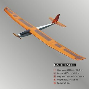 Radio Controlled And Gliding Over >> Details About Glider Big E Fair 98 4 Arf Electric Rc Airplane Balsa Wood Model Plane