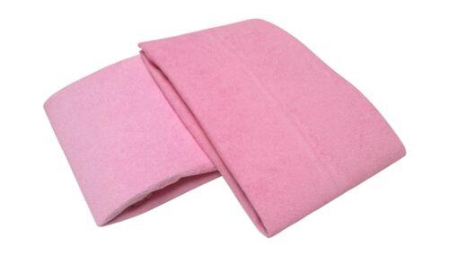 2 x éponge Désodorisant 40 x 90 rose serrage draps draps draps serrage Désodorisant
