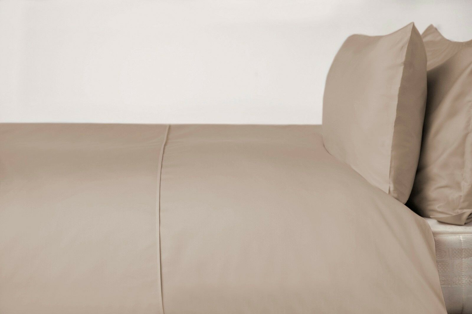 450Thread Count Pima Cotton Single Bed Duvet Cover in Walnut