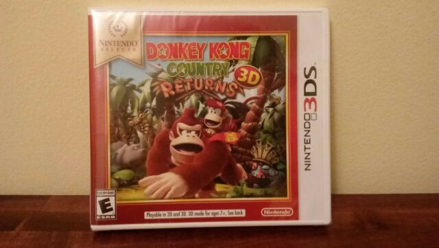 Donkey Kong Country Returns 3D - Nintendo Selects (Nintendo 3DS, 2016)