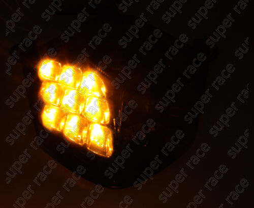 Smoke Brake Turn Signal Tail Light Integrated Led For Kawasaki Z1000 2007-2009