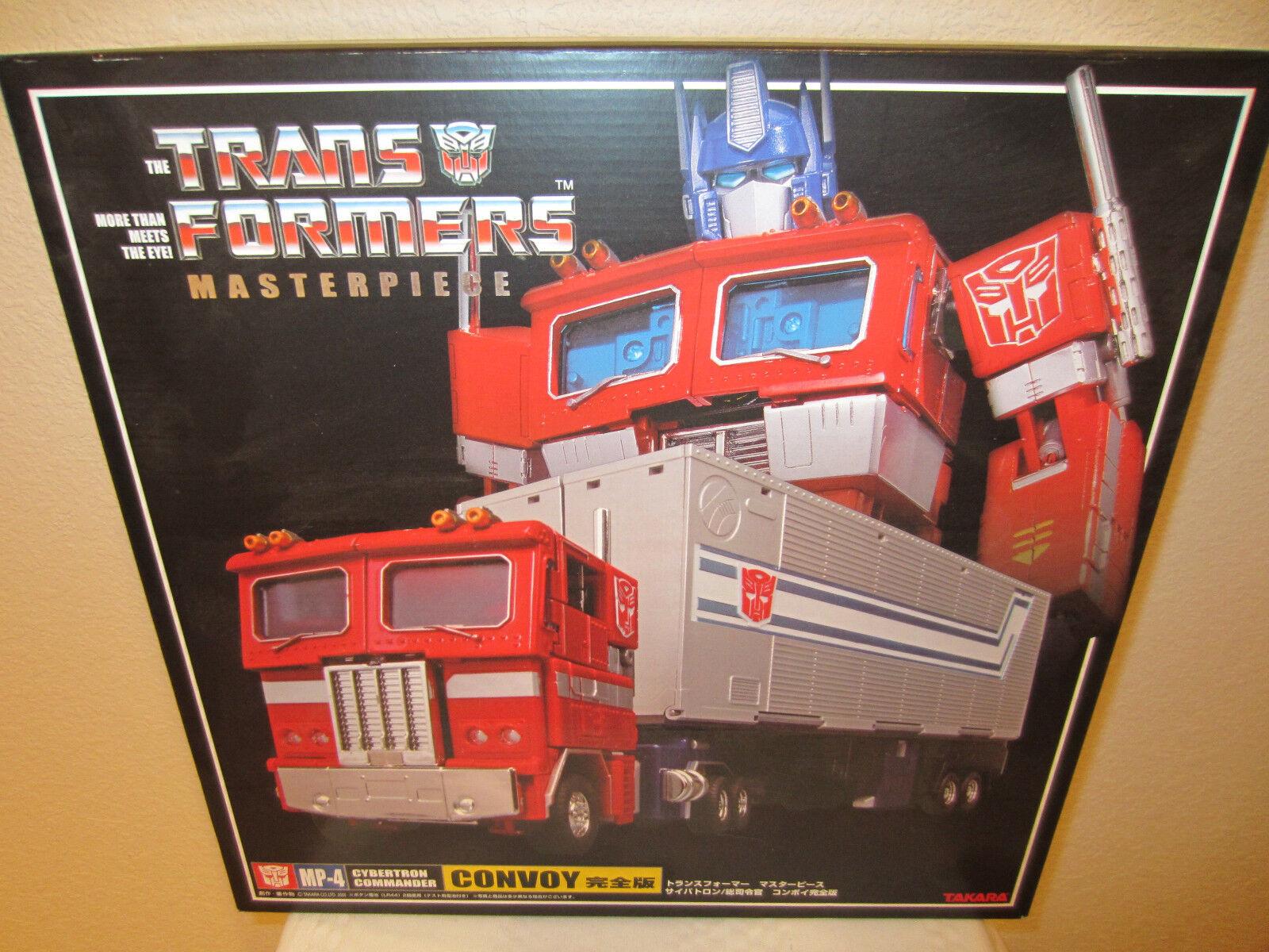 Transformers Takara MP-4 Masterpiece Optimus Prime Convoy w  Trailer 1st Edition