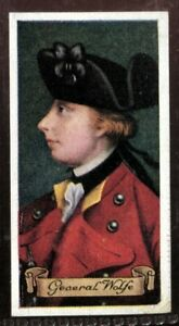 Tobacco-Card-Carreras-CELEBRITIES-OF-BRITISH-HISTORY-1935-General-James-Wolfe-30