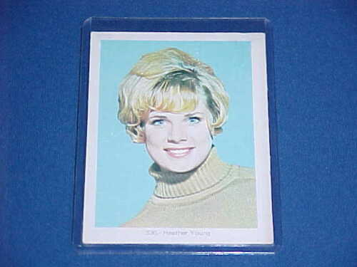 1960's VINTAGE LAND GIANTS BETTY HAMILTON HEATHER YOUNG TRADING CARD RARE