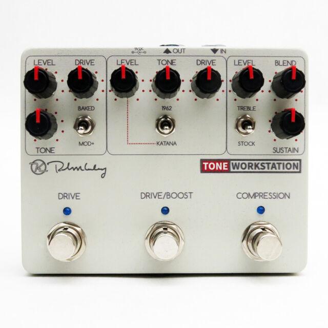 Keeley Tone Workstation Overdrive Compression Drive Boost Pédale d'Effets Guitare