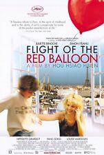 THE FLIGHT OF THE RED BALLOON Movie POSTER 27x40 Juliette Binoche Fang Song