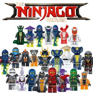 Lego 8pcs Ninjago Figure Ninjago Mini Figure Lloyd Kai Zane Silah Pythor Party