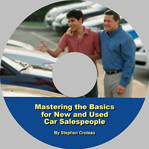 Auto-Sales-Training-Mastering-the-Basics-eBook-on-CD-by-Stephen-Croteau