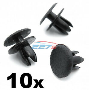 10x-Toyota-amp-Lexus-Interior-Trim-Panel-Trunk-Boot-amp-Upholstery-Lining-Clips