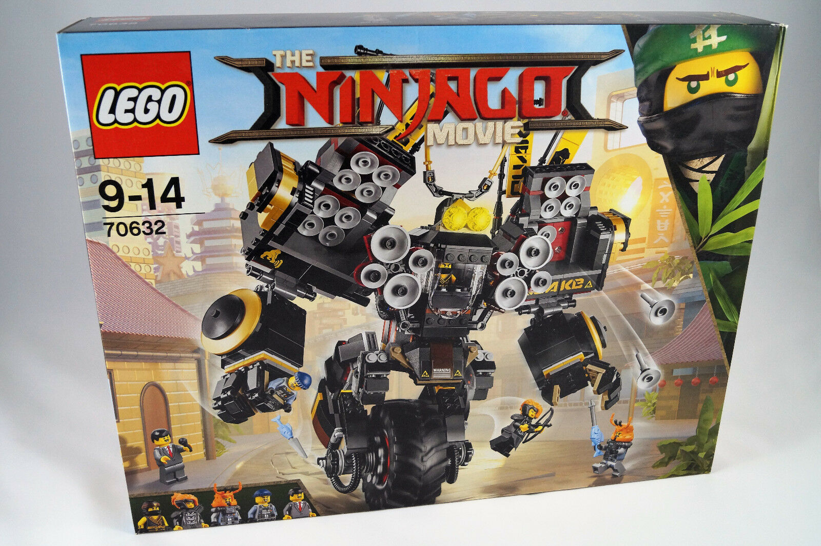 Lego® Ninjago Movie  70632 Cole's Donner-Mech Quake Mech Neuware   nuovo   Sealed  benvenuto per ordinare