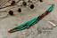 7-034-Extra-Long-Green-Beaded-Earrings-Ombre-Shoulder-Dusters-Long-Seed-Bead-Earring thumbnail 1