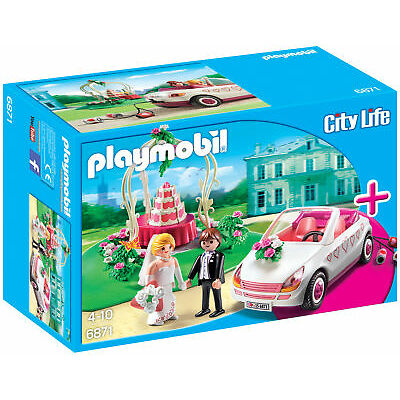 Playmobil City Life 6871 Wedding Celebration Starter Set