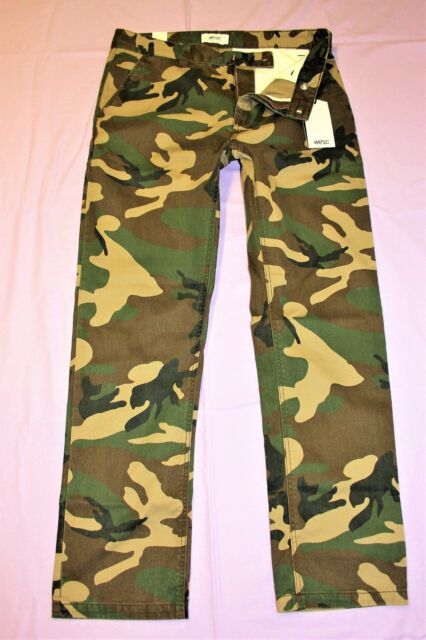 b3c65808bfcb9 Size 32 X 32 WeSC Man's Pants Eddy Chino Camouflage G510016 for sale ...