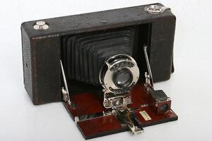 ansco no. 9 model b folding antique roll film camera | ebay