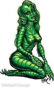 Creature-Girl-Sticker-Decal-Artist-Big-Toe-BT47