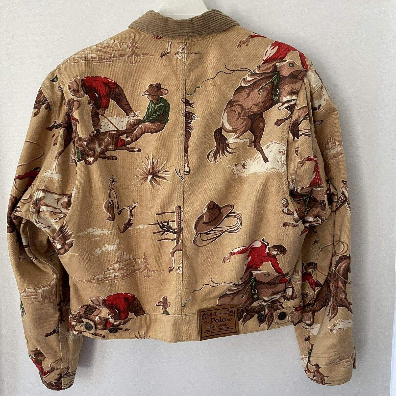 VTG Ralph Lauren Rodeo Country Western Cowboy Wom… - image 2