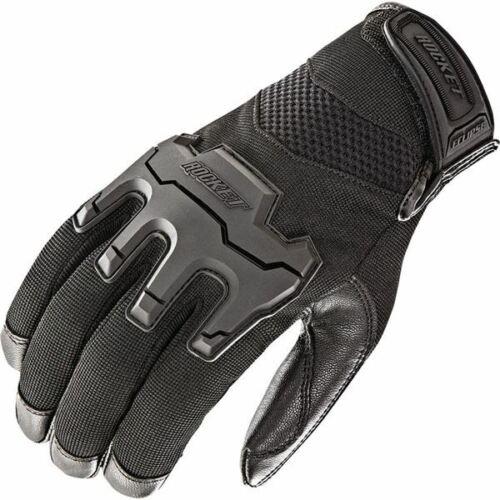 All Sizes Black Joe Rocket Eclipse Leather//Textile Motorcycle Glove