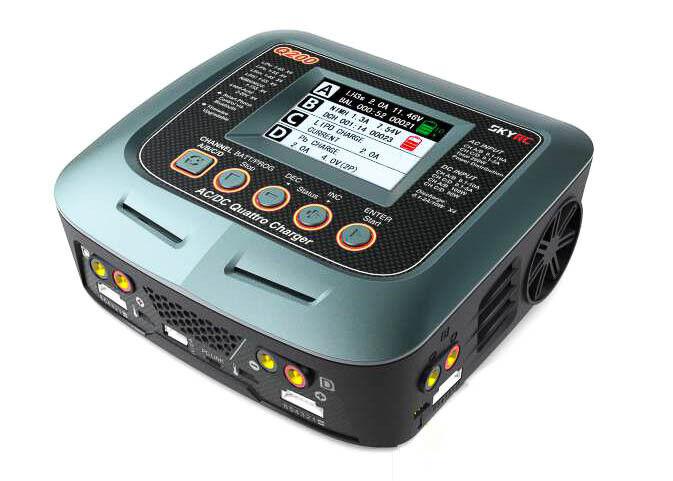 CieloRC Q200 Ladegerät AC DC LiPo 1-6s 10A  2x100W 2x50W SK100104  alta qualità