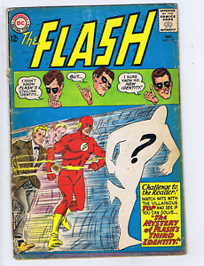 Flash #141 DC 1963 The Mystery of Flash's Third Identity !
