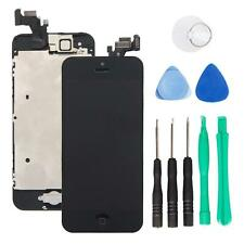 Camera Home Button Black LCD Screen Digitizer Assembly with Tools for iPhone 5