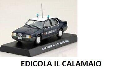 Die cast 1//43 Modellino Auto Carabinieri Alfa Romeo 156 1.8 Twin Spark 1999 blu