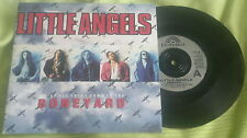 "LITTLE ANGELS vinyl 7"" single BONEYARD c/w Fortunate Son LTL8 excl/mint"