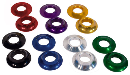 Profile Mid//American 19mm Cone Spacers Gold USA MADE