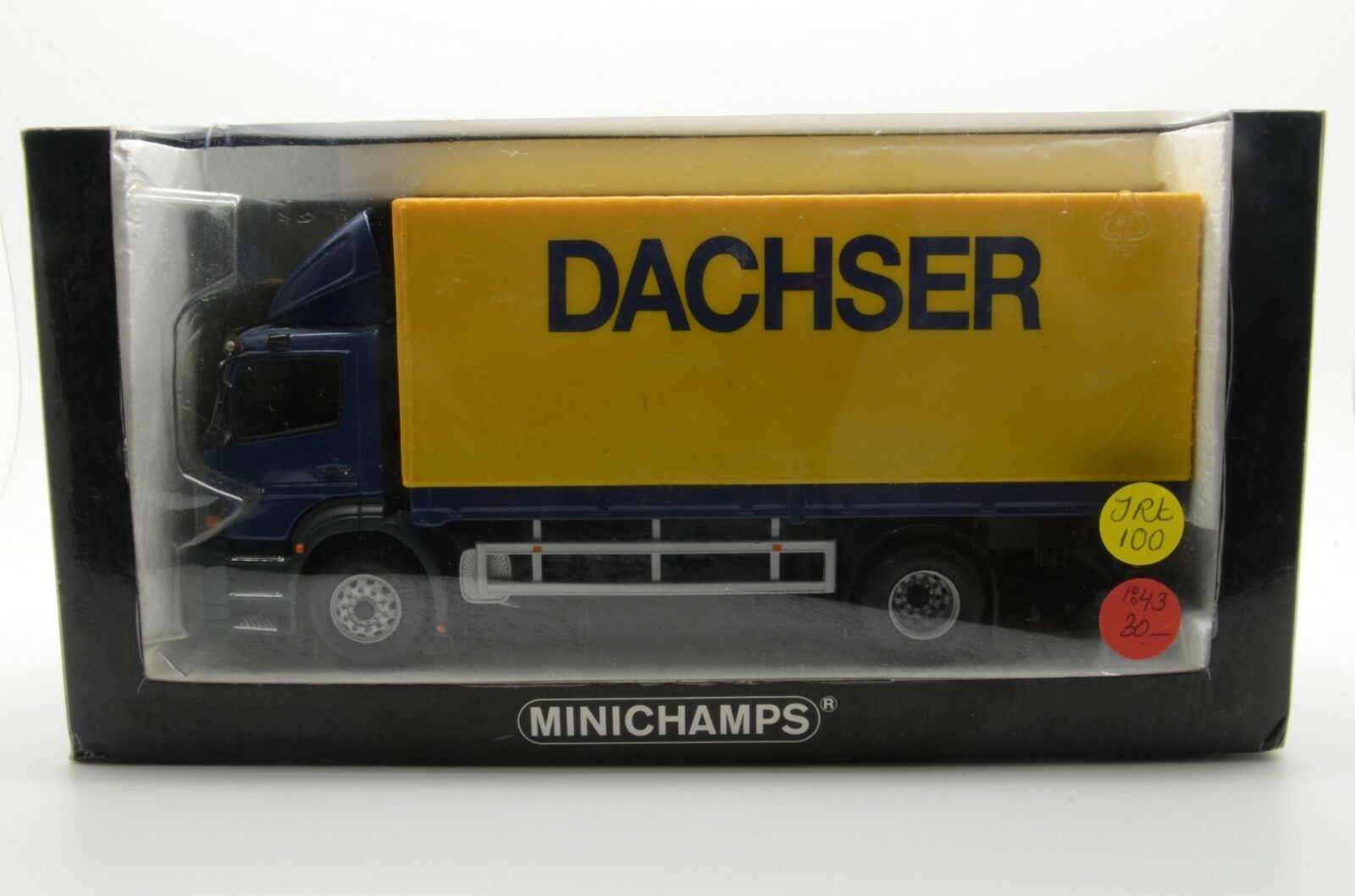 MERCEDES ATEGO 1828 camion Dachser Minichamps 439 380022 1 43