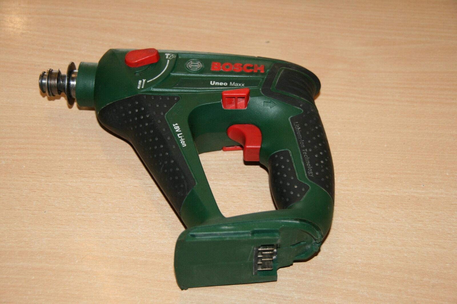 Bosch Uneo Maxx Akkuschlagschrauber 1 4   Aufnahme
