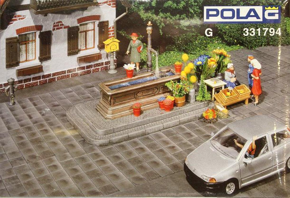 Pola 331794 Bodenplatten Fliesen 4 Stück