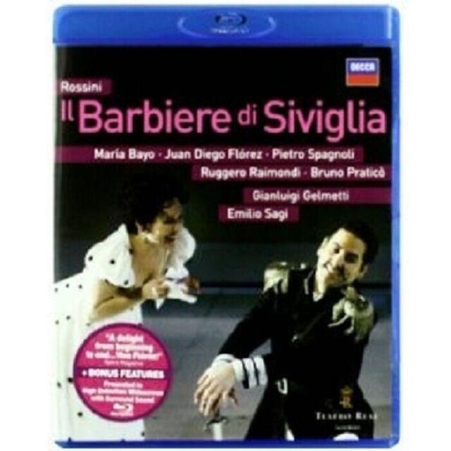 ROSSINI - IL BARBIERE DI SIVIGLIA (DER BARBIER VON SEVILLA) BLU-RAY NEW