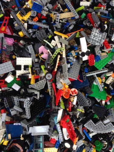 300 Random Lego Pieces Cleaned //300X Bricks Mixed Colors Read Descrption