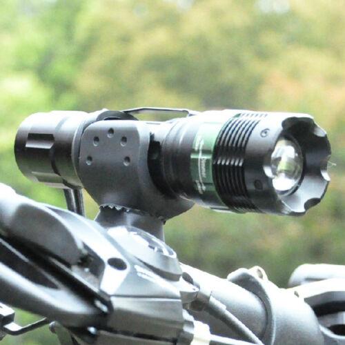 Zoomable super bright torch lampe de poche 400 lm 7W cree Q5 led 3-mode etanche