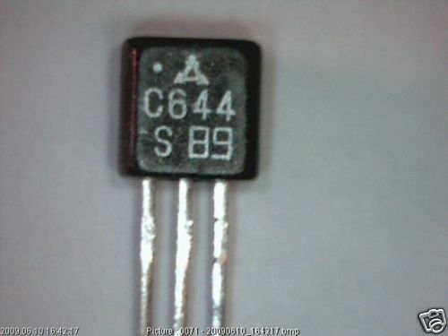 2x Transistor 2SC644 S NPN Silicon-Transistor