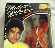 New Authentic MICHAEL JACKSON Beat It DOLL with STAGE OUTFIT in BOX Poseable