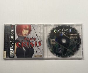 Playstation-1-Dino-Crisis-1-Complete-Black-Label-amp-Dino-Crisis-2-Disc-Only-PS1