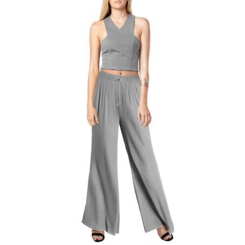 NEW WOMEN LADIES PALAZZO FLARED WIDE LEG PANTS LEGGINGS BAGGY TROUSERS PLUS SIZE