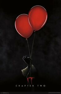 IT CHAPTER 2 - ONE SHEET POSTER 22x34 - MOVIE PENNYWISE 17856