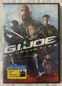 G-I-Joe-RAPPRESAGLIA-DVd-2013-Dwayne-Johnson-Bruce-Willis-nuovo-sigillato-Freeship