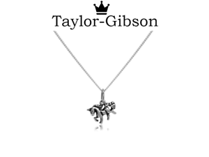 Girls 925 Sterling Silver Tiny Unicorn Necklace or Pendant Gift Present Boxed
