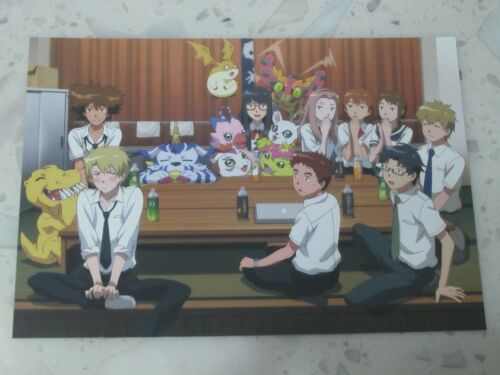 Digimon tri Movie 5 POST CARD Tai Matt Sora Mimi Kari TK Izzy Joe Meiko Poster