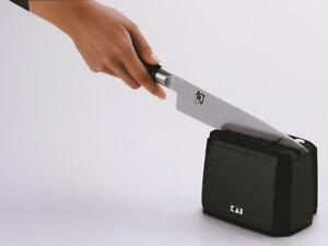Kai Ap 118 Messerscharfer Elektrisch Messer Scharfen Schleifstein Ebay