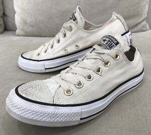 Details about Unique Converse All Star Chuck Taylor Shoes Womens 7 US Sneakers Shimery [CS1]